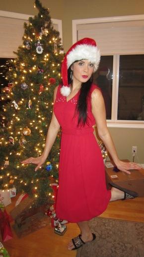 A Christmas DressReFashion