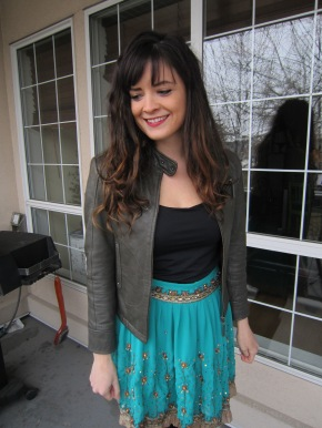 Dress to Skirt